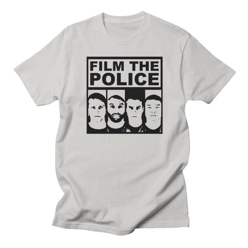 Film the Police Men's T-Shirt by Mike Hampton's T-Shirt Shop