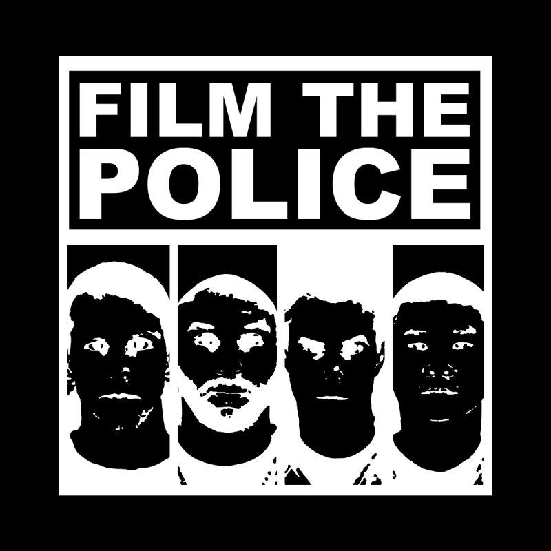 Film the Police (white alternate) Men's T-Shirt by Mike Hampton's T-Shirt Shop