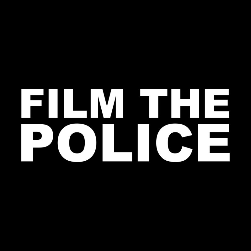 F The Police (white alternate) Men's T-Shirt by Mike Hampton's T-Shirt Shop