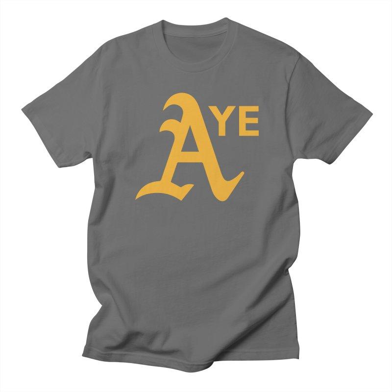 Oakland Aye Men's T-Shirt by Mike Hampton's T-Shirt Shop