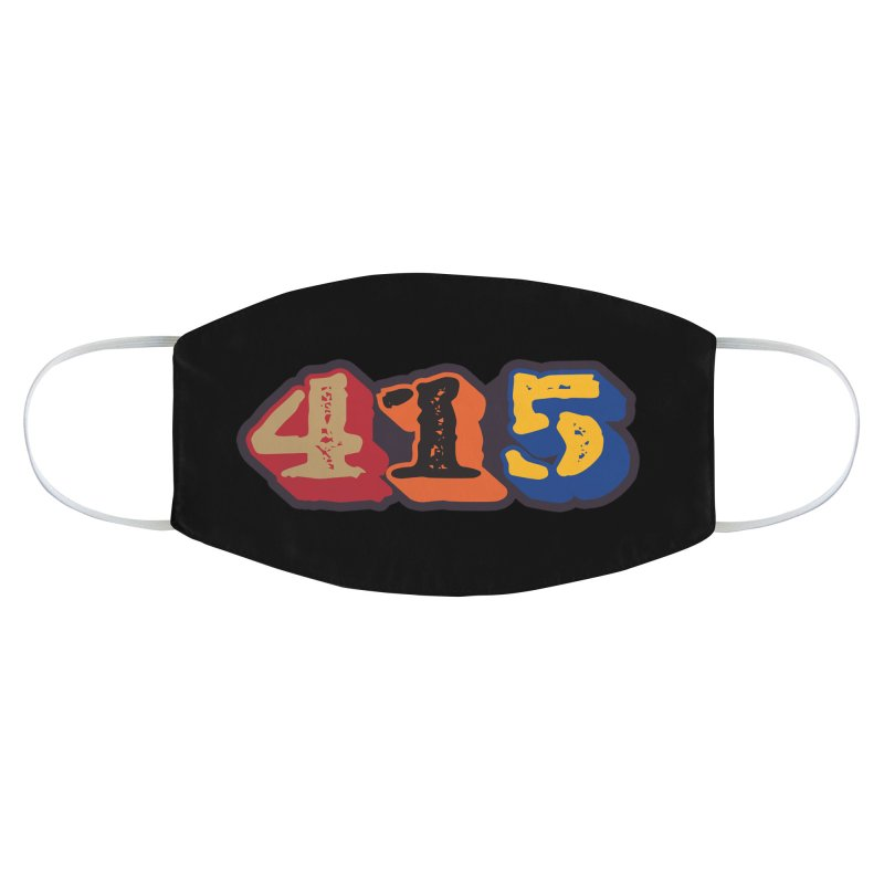 415 Accessories Face Mask by Mike Hampton's T-Shirt Shop