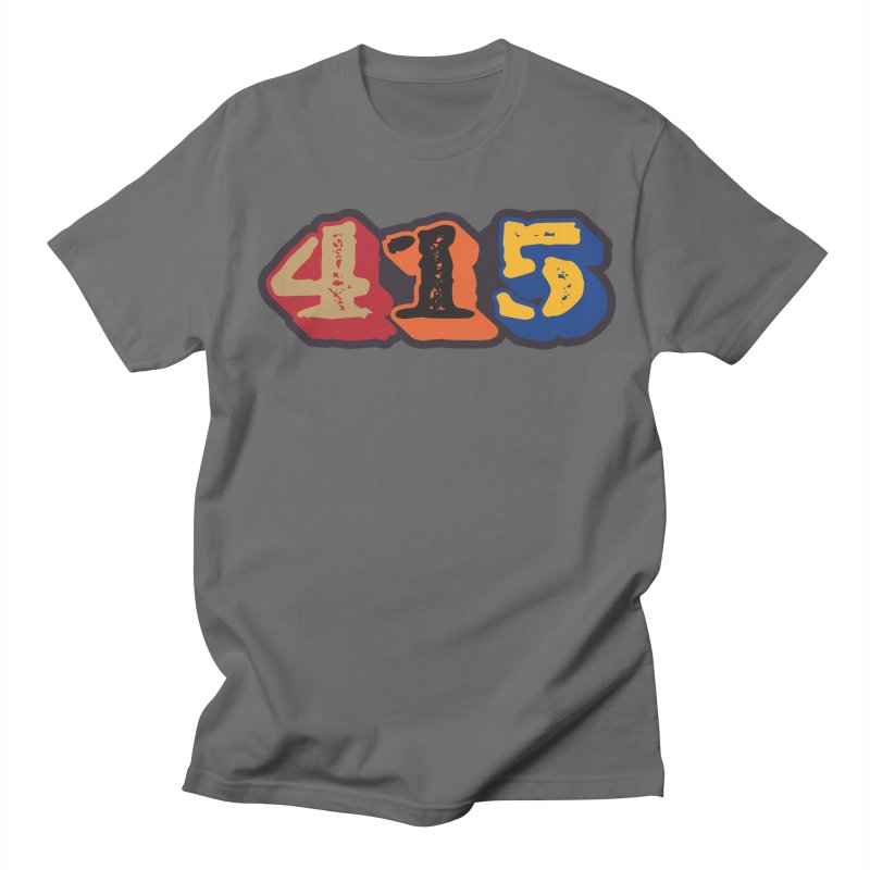 415 Men's T-Shirt by Mike Hampton's T-Shirt Shop