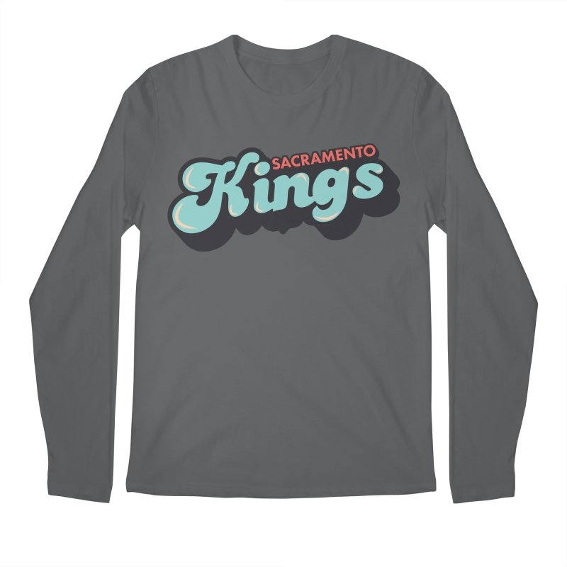 Vintage Kings Men's Longsleeve T-Shirt by Mike Hampton's T-Shirt Shop