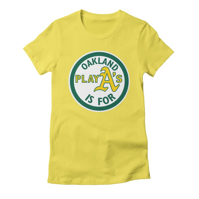 Oakland is for PlayA's Women's T-Shirt by Mike Hampton's T-Shirt Shop