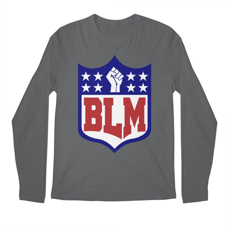 BLM Men's Longsleeve T-Shirt by Mike Hampton's T-Shirt Shop