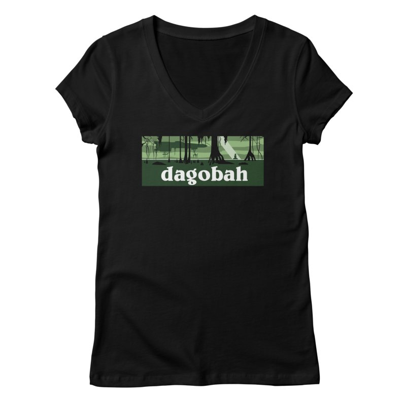 Parody Design #5 Women's V-Neck by Mike Hampton's T-Shirt Shop
