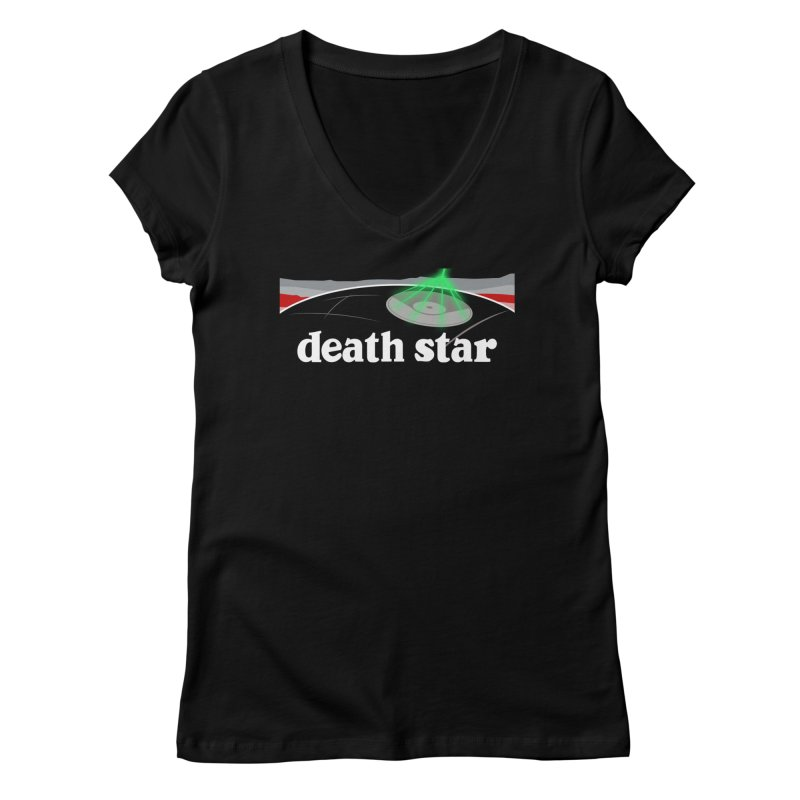 Parody Design #7 Women's V-Neck by Mike Hampton's T-Shirt Shop