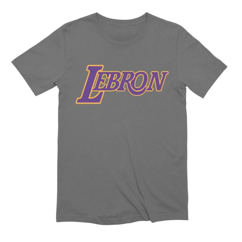 LA LeBron Men's T-Shirt by Mike Hampton's T-Shirt Shop