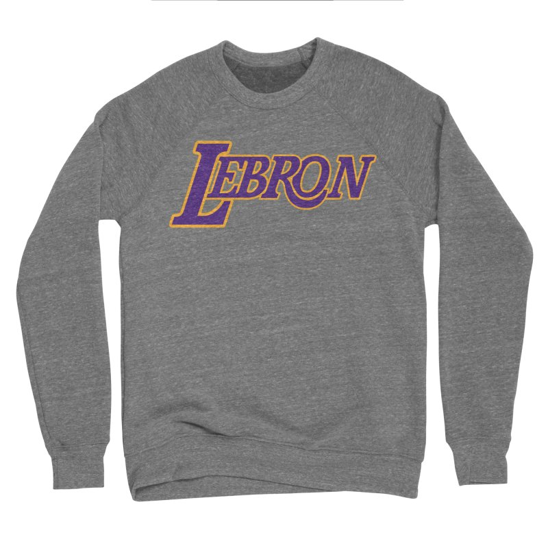 LA LeBron Men's Sweatshirt by Mike Hampton's T-Shirt Shop