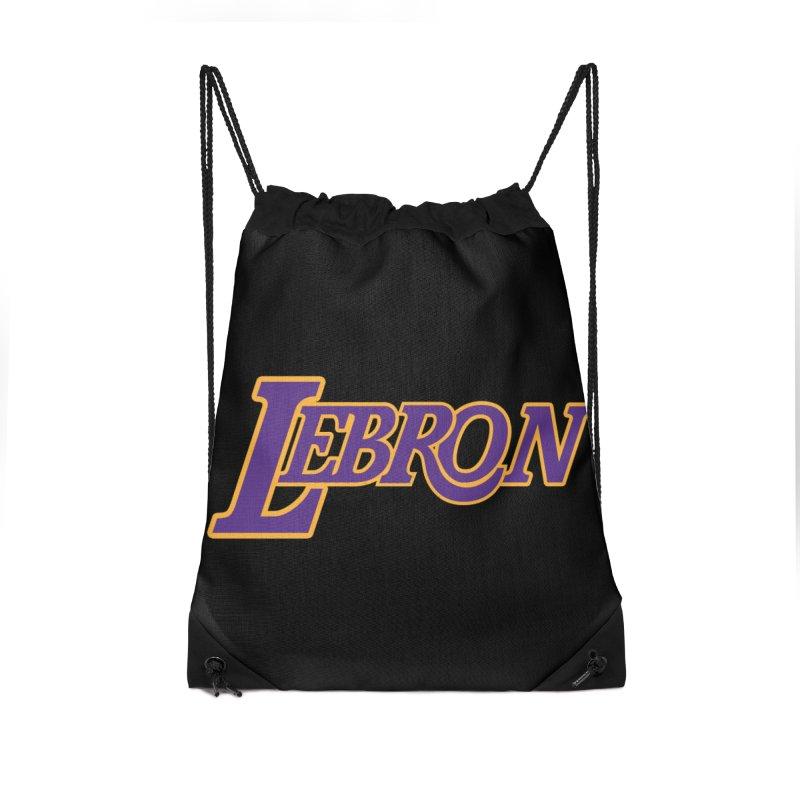 LA LeBron Accessories Bag by Mike Hampton's T-Shirt Shop