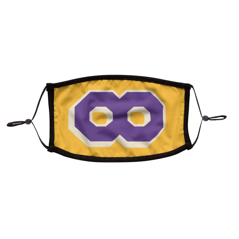 Kobe, for Infinity Accessories Face Mask by Mike Hampton's T-Shirt Shop