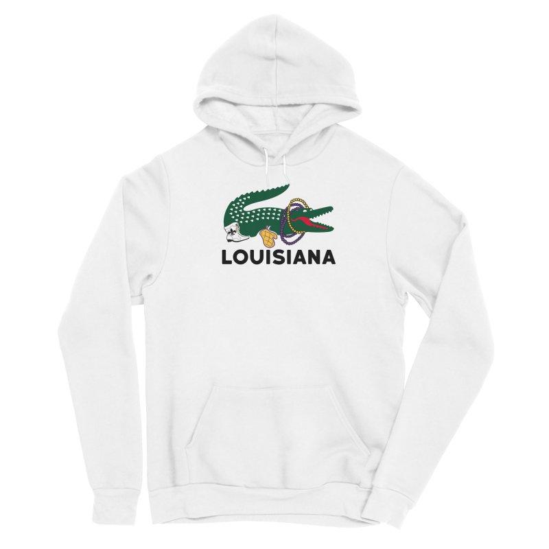 Louisiana Men's Pullover Hoody by Mike Hampton's T-Shirt Shop