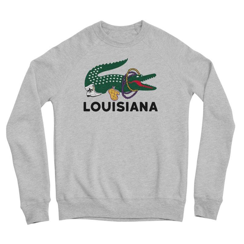 Louisiana Men's Sweatshirt by Mike Hampton's T-Shirt Shop