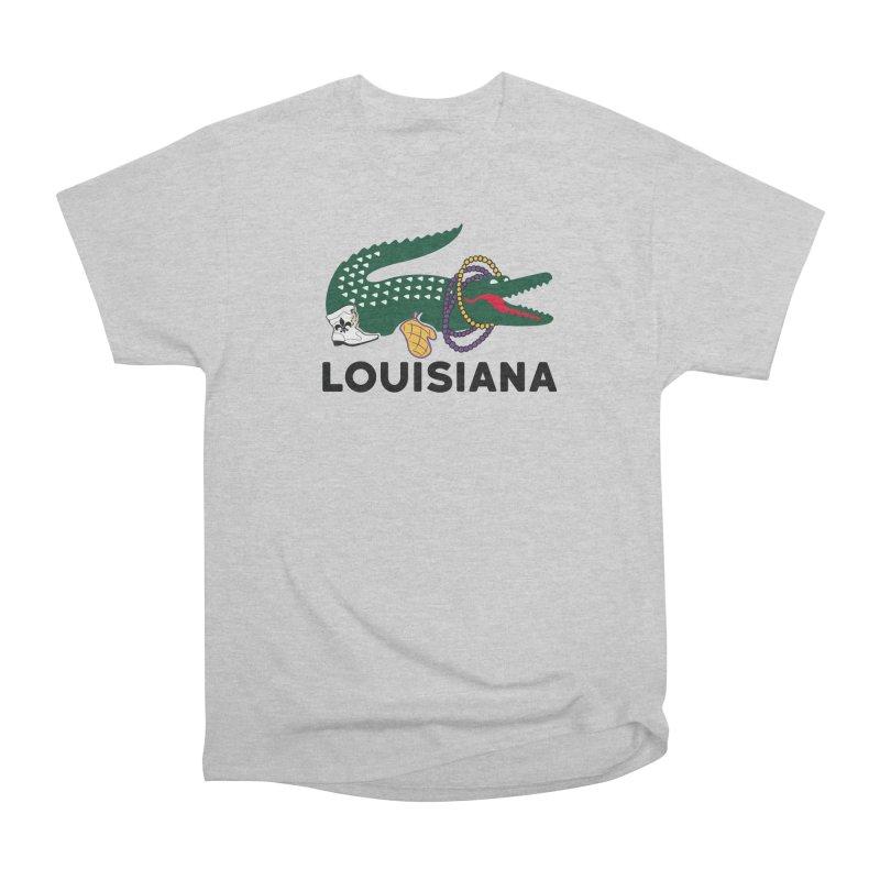 Louisiana Men's T-Shirt by Mike Hampton's T-Shirt Shop