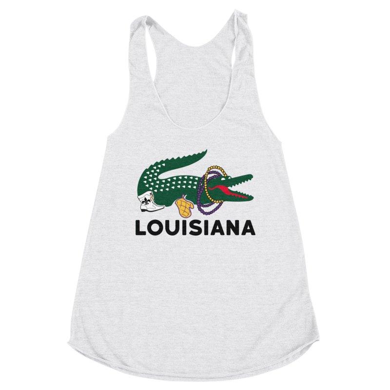 Louisiana Women's Tank by Mike Hampton's T-Shirt Shop