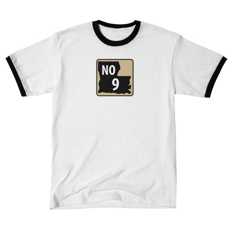 NO Highway #9 Men's T-Shirt by Mike Hampton's T-Shirt Shop