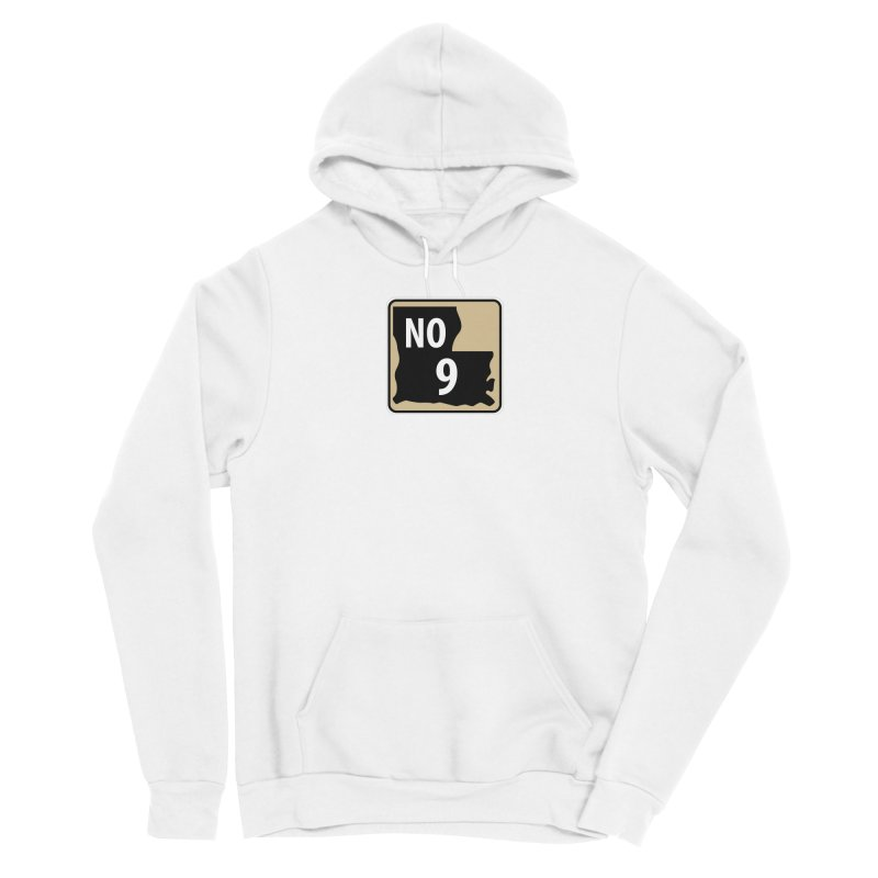 NO Highway #9 Men's Pullover Hoody by Mike Hampton's T-Shirt Shop