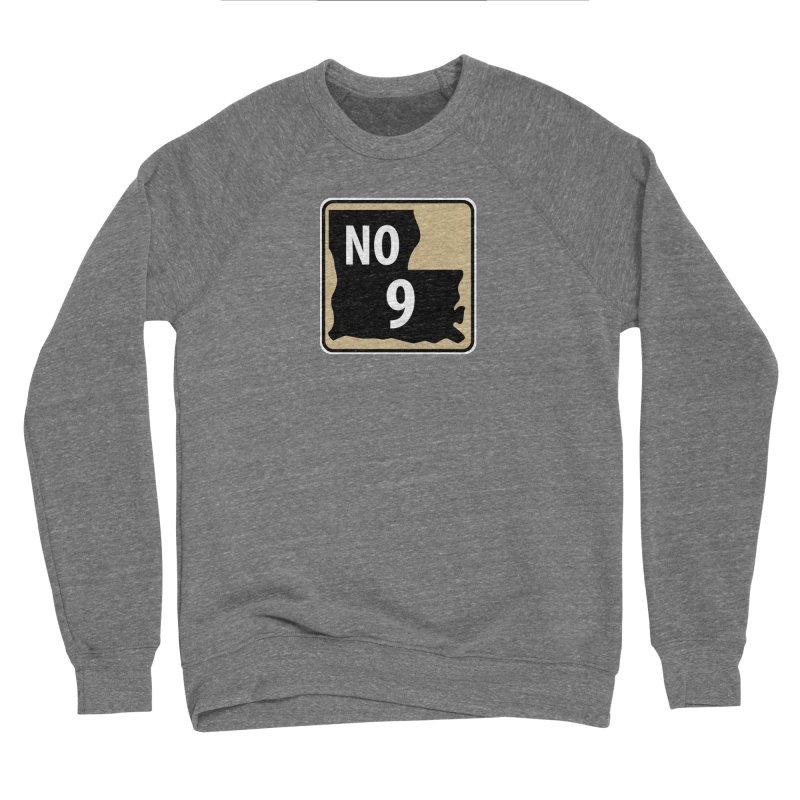 NO Highway #9 Men's Sweatshirt by Mike Hampton's T-Shirt Shop