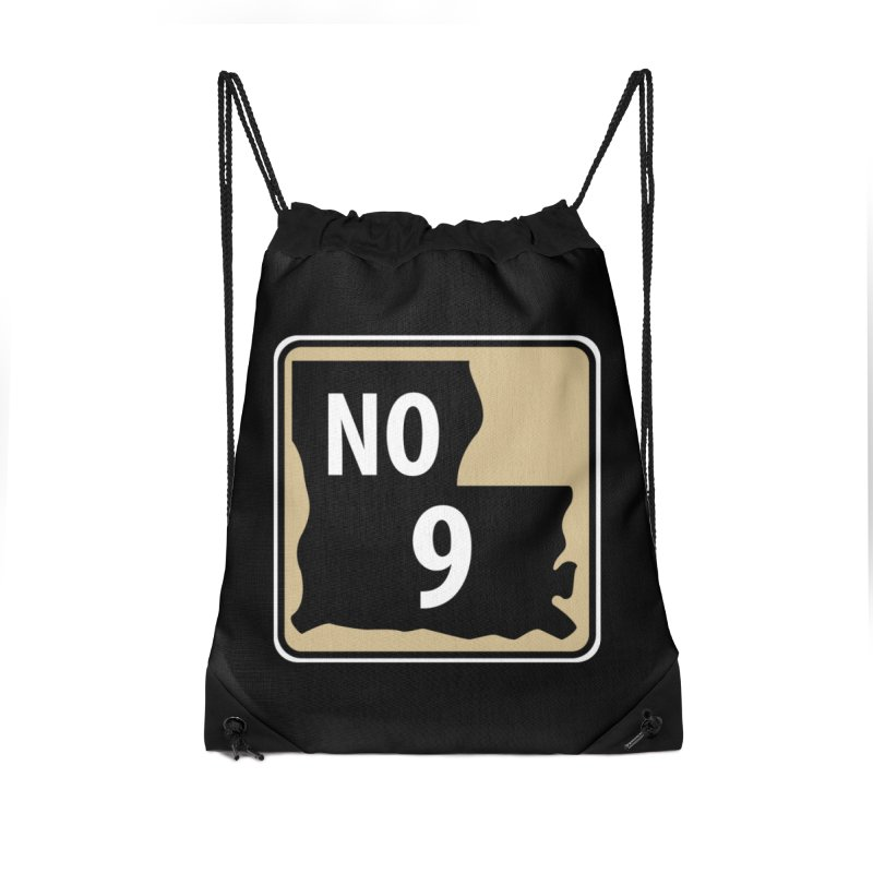 NO Highway #9 Accessories Bag by Mike Hampton's T-Shirt Shop
