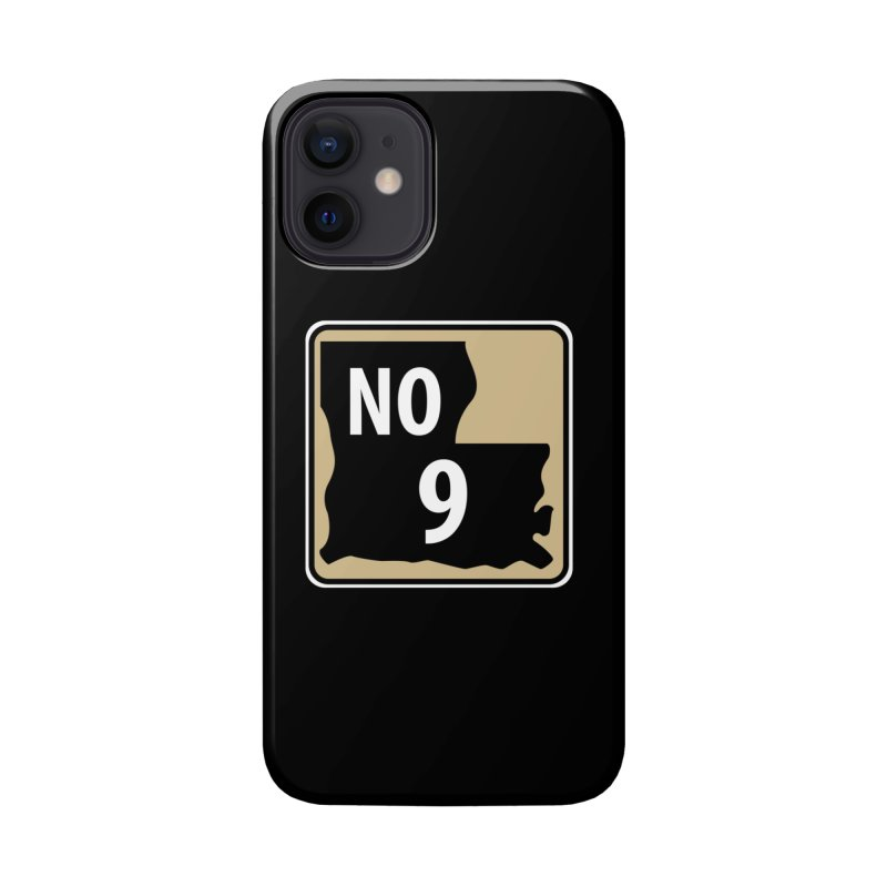 NO Highway #9 Accessories Phone Case by Mike Hampton's T-Shirt Shop