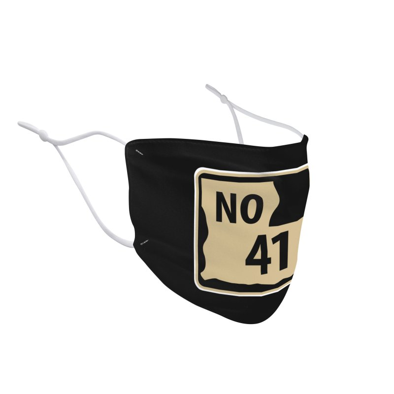 NO Highway #41 Accessories Face Mask by Mike Hampton's T-Shirt Shop