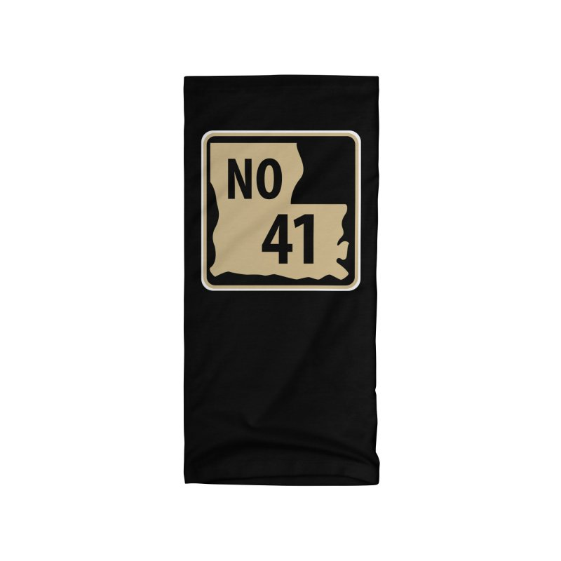 NO Highway #41 Accessories Neck Gaiter by Mike Hampton's T-Shirt Shop