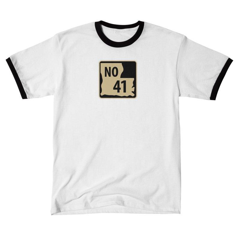 NO Highway #41 Men's T-Shirt by Mike Hampton's T-Shirt Shop
