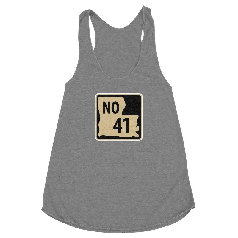 NO Highway #41 Women's Tank by Mike Hampton's T-Shirt Shop