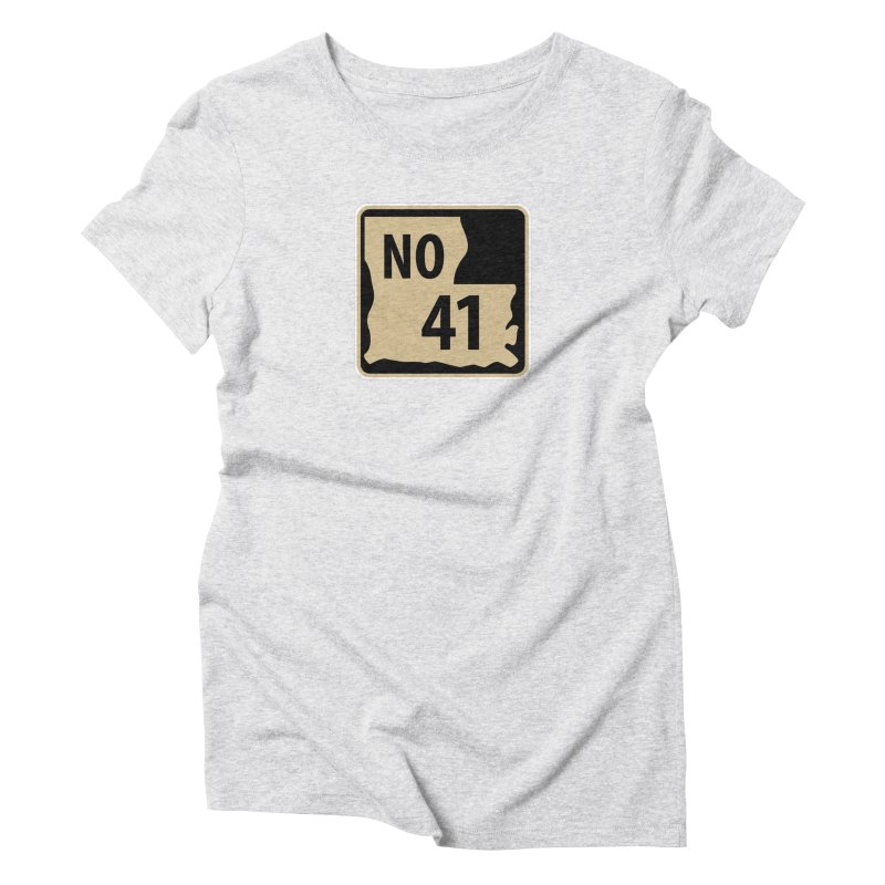 NO Highway #41 Women's T-Shirt by Mike Hampton's T-Shirt Shop