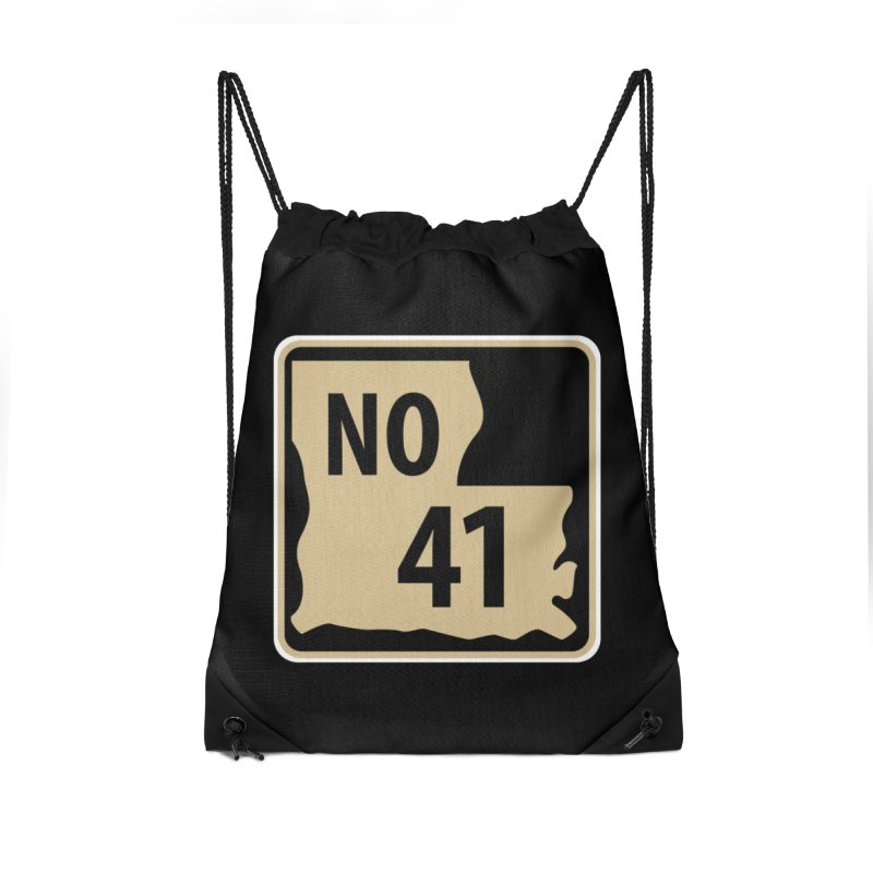 NO Highway #41 Accessories Bag by Mike Hampton's T-Shirt Shop