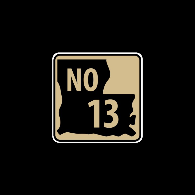 NO Highway #13 Accessories Neck Gaiter by Mike Hampton's T-Shirt Shop