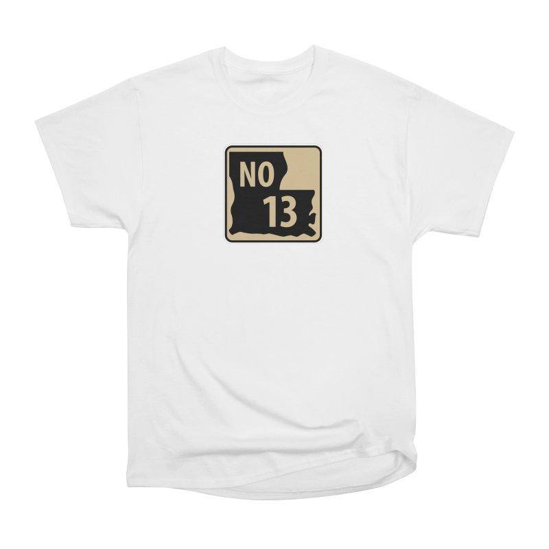 NO Highway #13 Men's T-Shirt by Mike Hampton's T-Shirt Shop