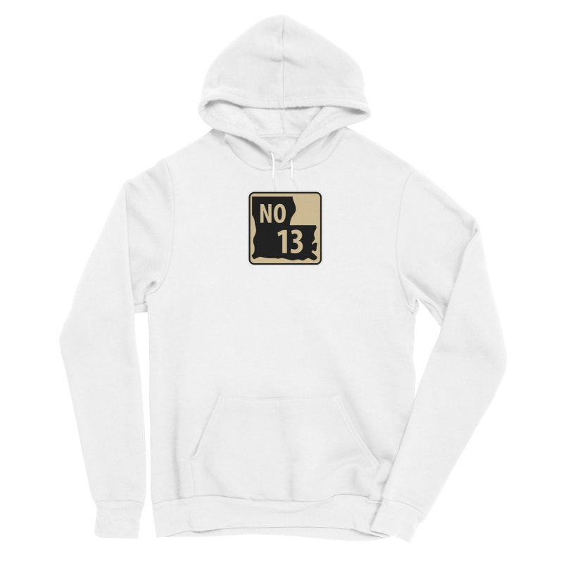 NO Highway #13 Men's Pullover Hoody by Mike Hampton's T-Shirt Shop