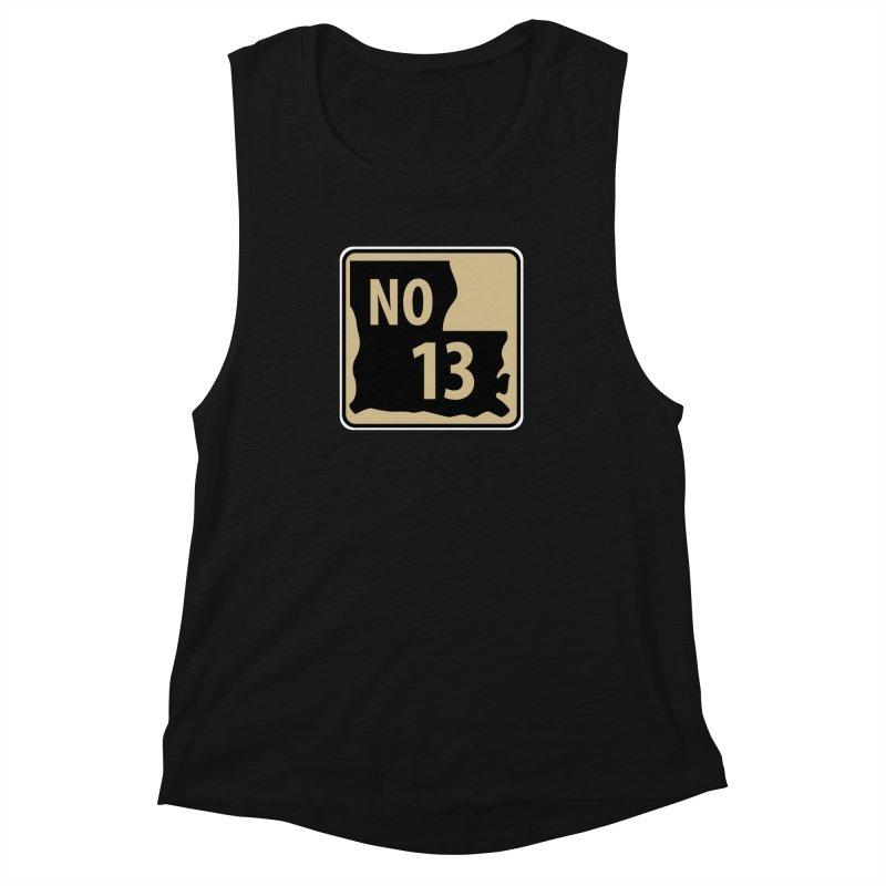 NO Highway #13 Women's Tank by Mike Hampton's T-Shirt Shop
