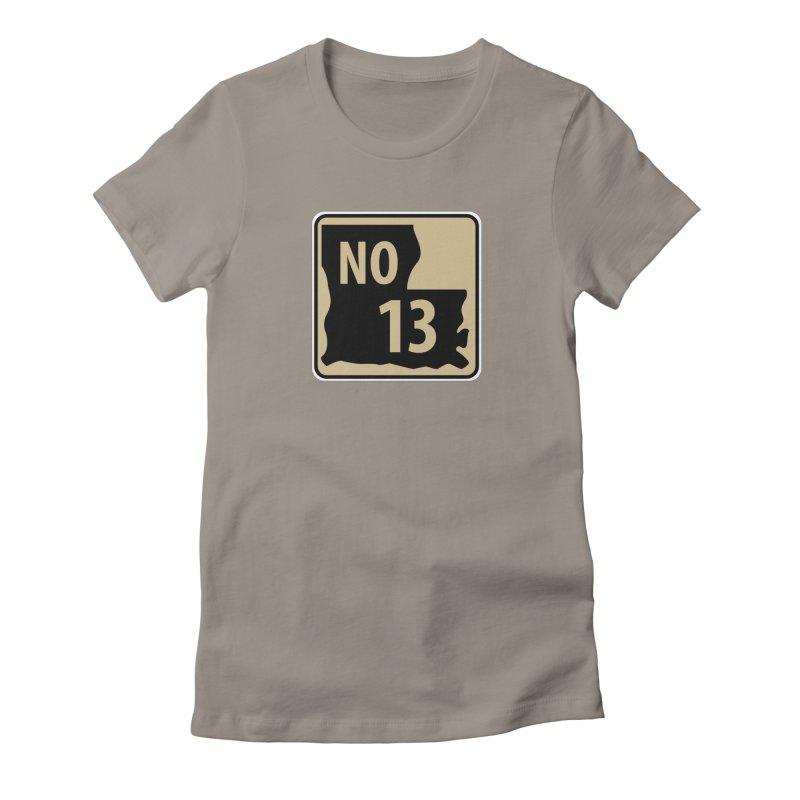 NO Highway #13 Women's T-Shirt by Mike Hampton's T-Shirt Shop