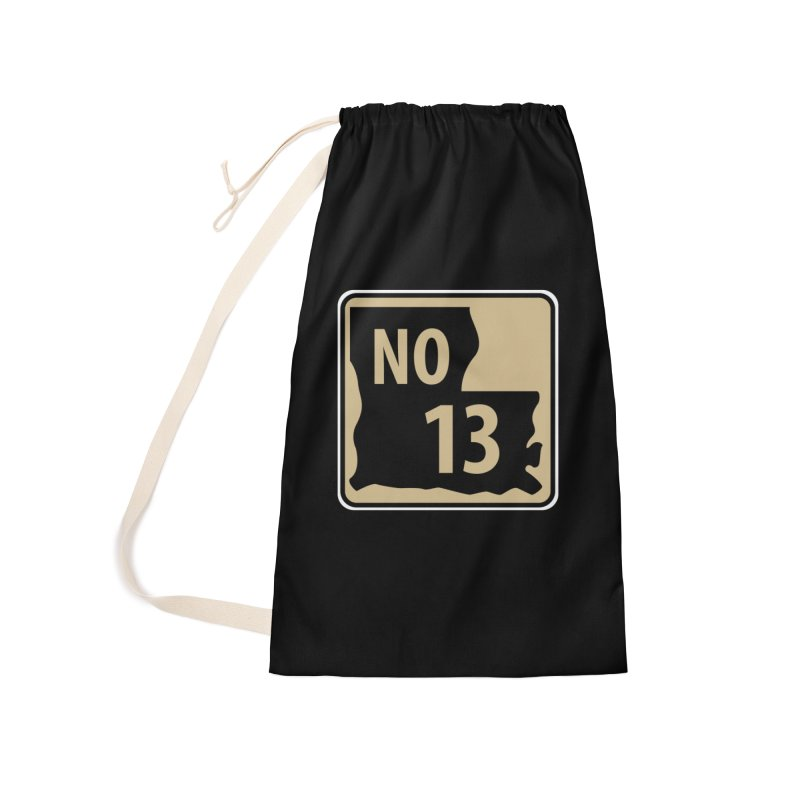NO Highway #13 Accessories Bag by Mike Hampton's T-Shirt Shop