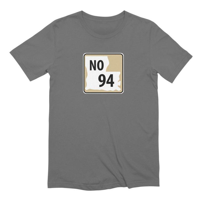 NO Highway #94 Men's T-Shirt by Mike Hampton's T-Shirt Shop