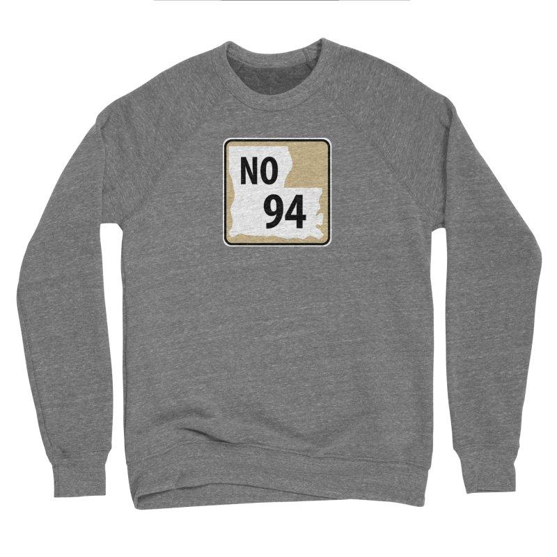 NO Highway #94 Men's Sweatshirt by Mike Hampton's T-Shirt Shop