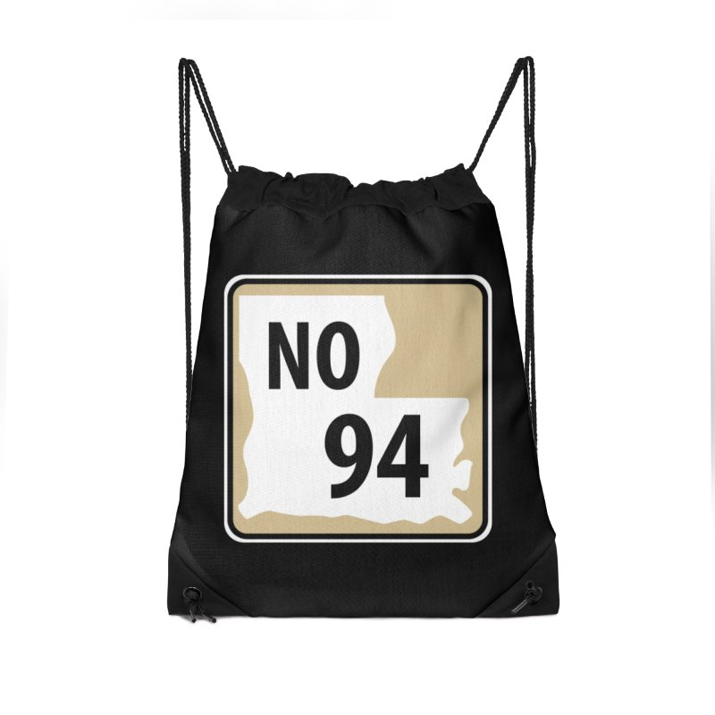 NO Highway #94 Accessories Bag by Mike Hampton's T-Shirt Shop