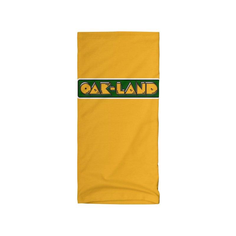 OAK-LAND Accessories Neck Gaiter by Mike Hampton's T-Shirt Shop