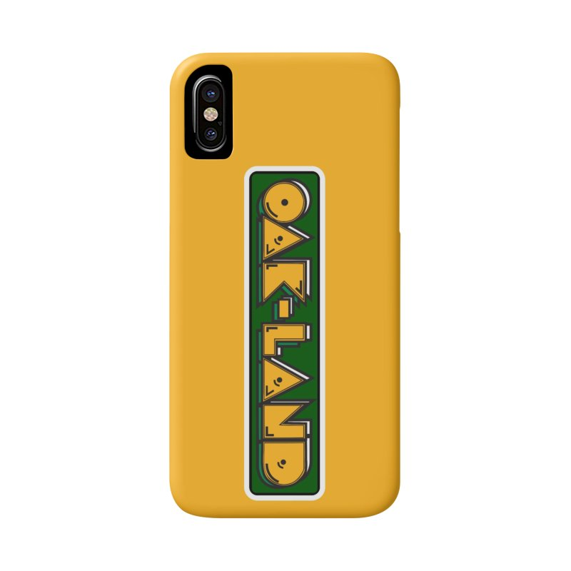 OAK-LAND Accessories Phone Case by Mike Hampton's T-Shirt Shop