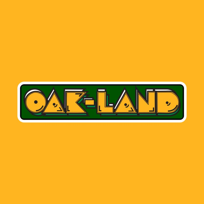 OAK-LAND Men's T-Shirt by Mike Hampton's T-Shirt Shop