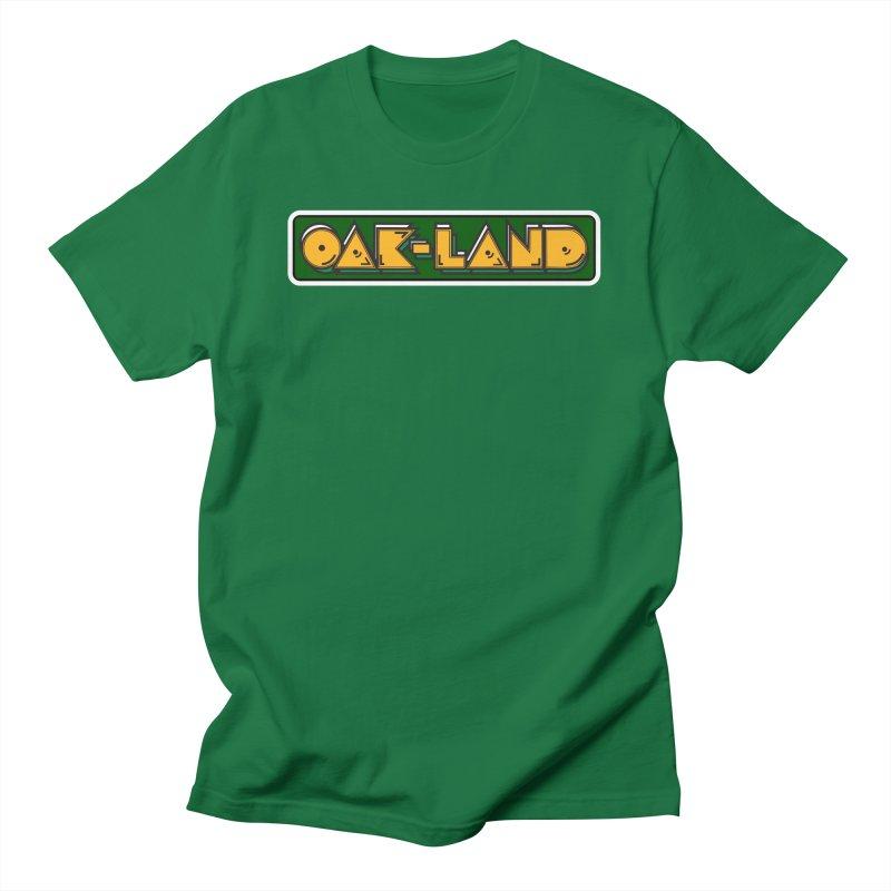 OAK-LAND Men's T-Shirt by Mike Hampton's T-Shirt Shop