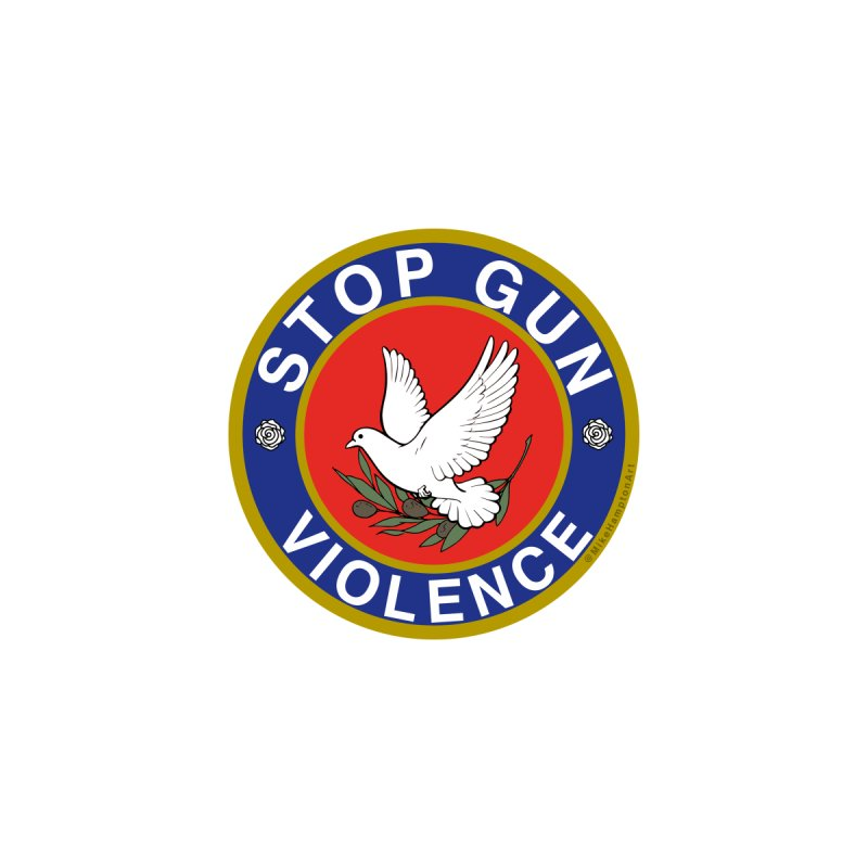 Stop Gun Violence Women's T-Shirt by Mike Hampton's T-Shirt Shop