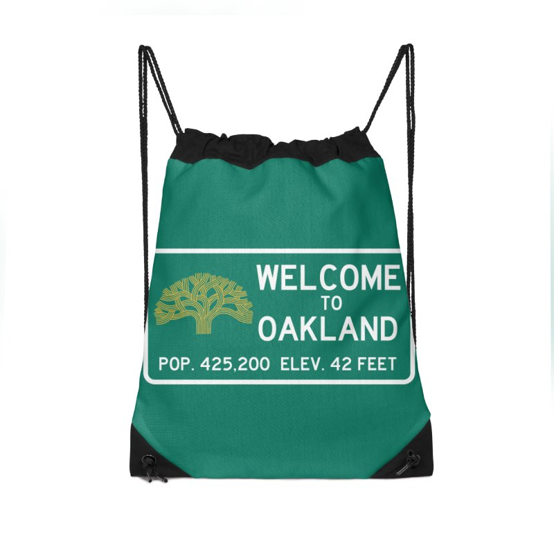 Welcome to Oakland Accessories Bag by Mike Hampton's T-Shirt Shop