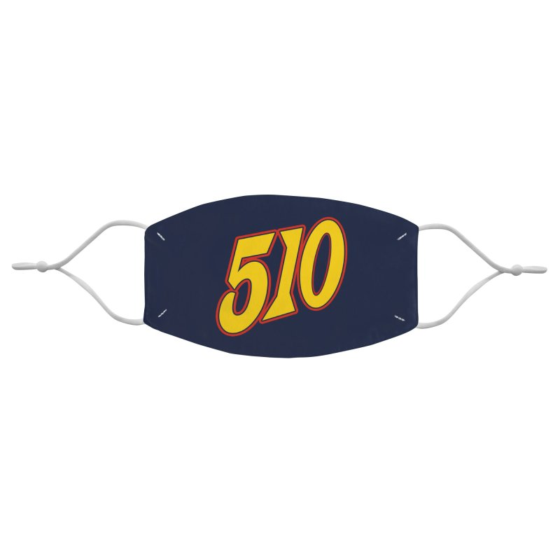 510 Dubs Accessories Face Mask by Mike Hampton's T-Shirt Shop