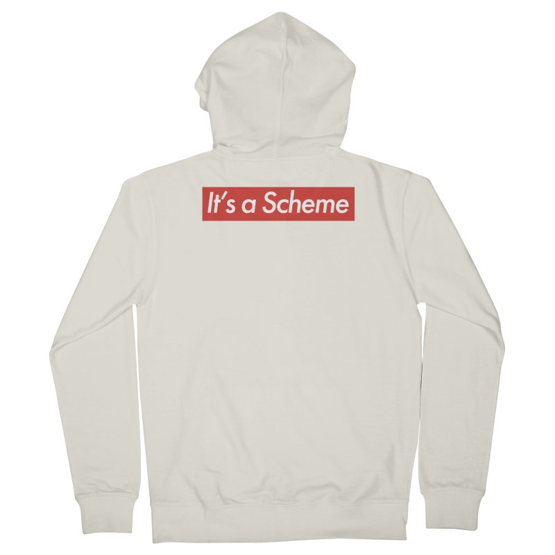 Supreme Scheme Women's Zip-Up Hoody by Mike Hampton's T-Shirt Shop