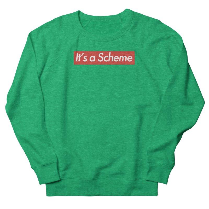 Supreme Scheme Women's French Terry Sweatshirt by Mike Hampton's T-Shirt Shop
