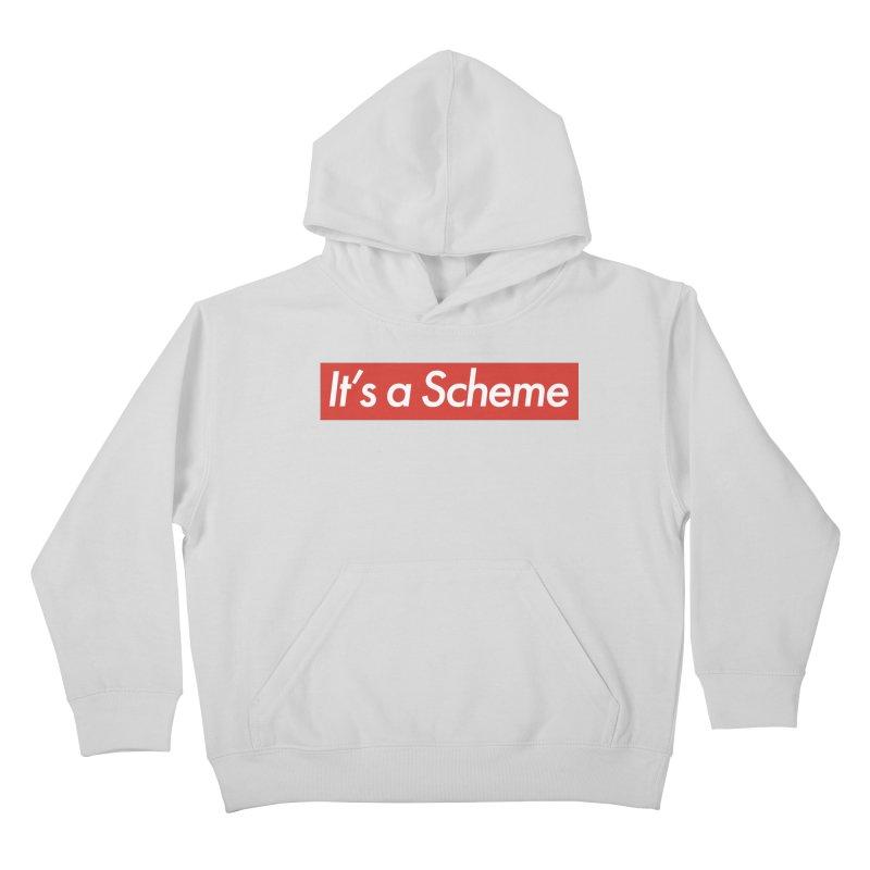 Supreme Scheme Kids Pullover Hoody by Mike Hampton's T-Shirt Shop