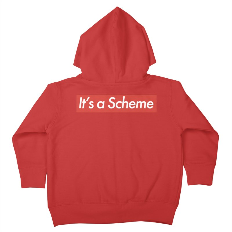 Supreme Scheme Kids Toddler Zip-Up Hoody by Mike Hampton's T-Shirt Shop